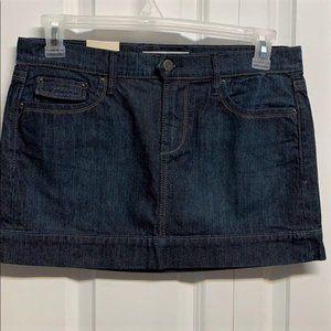 Old Navy Mini Skirt Size 8 Denim New